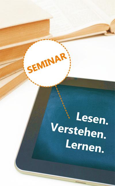 Seminar: Lesen - Verstehen - Lernen
