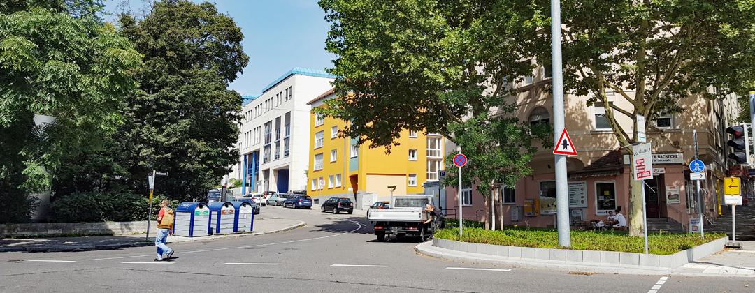 Wolframstraße - Straßenansicht